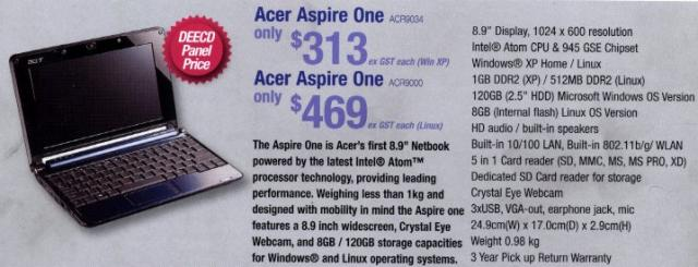 Acer One Advertisement